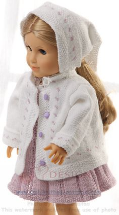Beautiful Norwegian quality doll knitting patterns, every doll's dream website