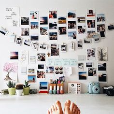 We're absolutely in love with @paulaclyde's creative workspace!