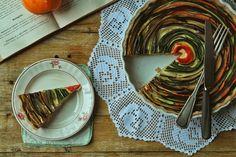 Hoje para jantar ...: Tarte espiral de legumes