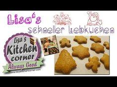 Lisa's | schneller Lebkuchen - YouTube Lisa, Muffin, Breakfast, Youtube, Food, Cute Baking, Few Ingredients, Ginger Beard, Simple