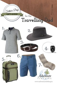 Father's Day Gift Guide for the Travelling Dad: Need help finding that perfect gift for dad? Here is a list of our favourite men's items for your dad who loves to travel. Perfect Gift For Dad, Gifts For Dad, Fathers Day Gifts, Adventure Outfit, Dad Day, Gift Guide, Travelling, Dads, Husband