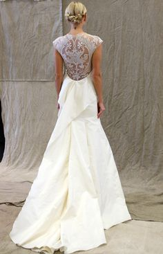 The Sexy Back (Trend Alert!)   The Knot Blog – Wedding Dresses, Shoes, Hairstyle News Ideas