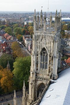 York minster cathedral, York.