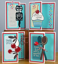 50's Kitchen Layouts and Greetings to Go
