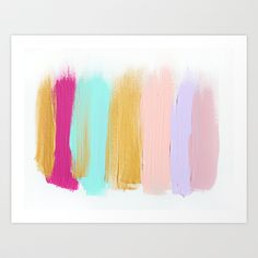 Colors 63 Art Print by JenRamos