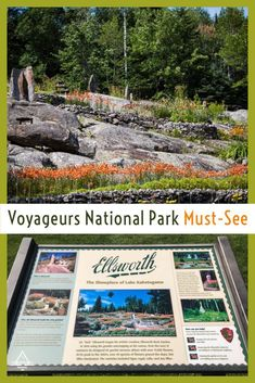 Check out this unique place in Voyageurs National Park in Minnesota. Voyageurs Ellsworth Rock Gardens - TRIPS TIPS and TEES #voyageurs #Minnesota #ellsworthrockgardens Underwater Photography, Nature Photography, National Geographic Maps, Rock Sculpture, Park Service, Garden S, Amazing Adventures, Rock Climbing, Adventure Travel