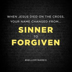 Matthew West, Name Change, Hello My Name Is, Forgiveness, Names, Letting Go