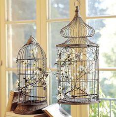 декоративные клетки для птиц в интерьере, декоративные клетки, клетки в интерьере, клетки как элемент декора, красивые интерьеры