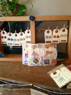 clothespin jewelry display - Google Search