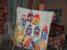créatrice de modèles de patchwork pour les magazines   bientôt vente de fiches