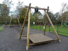 20m Aerial Runway - Adventure Playground Equipment from PlayQuest