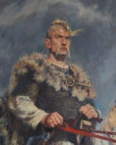 THE RURIK DESCENDANT ~ Grand Duke Svyatoslav (922 or 942-972), the third ruler from Ryurik dynasty. He was a grandson of Ryurik and the only son of Grand Duchess Olga but unlike his mother he lived and died as a pagan because he needed the support of his army. From another source Byzantine princess refused to marry him so he refused to be christened. Svyatoslav became known as a great warrior; he participated in battles since he was 4 years old. Svyatoslav had 3 sons who divided his power…