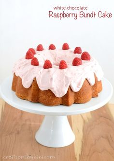 Amazing+White+Chocolate+Raspberry+Bundt+Cake+Recipe