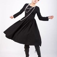 Very simple but I love it!  I would rock this with a fabulous statement necklace and pumps.....I may have to order this
