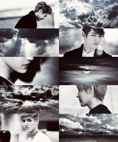 If EXO own the weather  →  Kris would be the reason behind the clouds by viitakissme