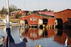 Utö #Finland #ScanAdventures Arctic Circle, Archipelago, Finland, Contemporary Design, Travelling, Sailing, Cities, Beautiful Places, Adventure