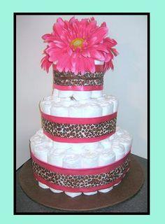 The next diaper cake idea!!!