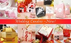 Wedding Candies by Shuang Xi Le Wedding Candy, Wedding Favours, Wedding Gifts, Candies, Favors, Gift Wrapping, Wedding Day Gifts, Gift Wrapping Paper, Presents