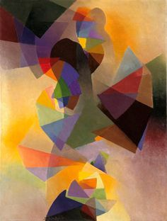 Stanton Macdonald Wright ~ The Prophet, 1955