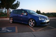 VW Oettinger wheels, H&R sport springs, carbon splitter. Volkswagen R32, Golf Gti R32, Wheels, Pot Luck, My Style, Vehicles, Sick, Sports, Cars