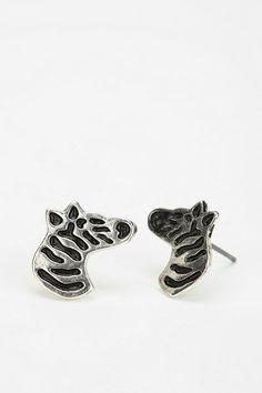 zebra earings