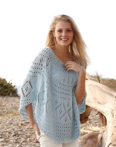 Knit Poncho Lace Poncho Lace Cover Up Beach Cover by ElvishGiggles, €42.00