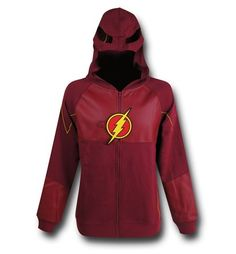 Flash TV Show Suit-Up Costume Hoodie