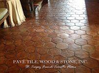 St. Tropez French Terra Cotta Tile Flooring