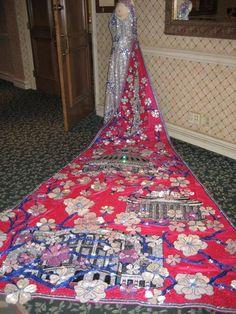 San Antonio fiesta gown