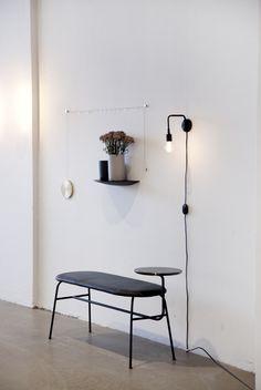 Menu Tribeca Staple Wall Lamp by Søren Rose