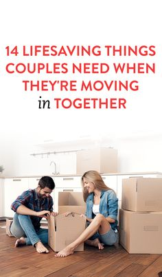 14 Lifesaving Things Couples Need When They're Moving in Together