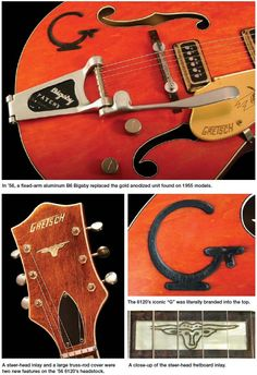 1956 Gretsch Chet Atkins Hollow Body Model 6120