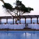 Γαμος, δεξιωση γαμου διπλα στην πισινα απο το ξενοδοχειο Mati Hotel στο Ματι.