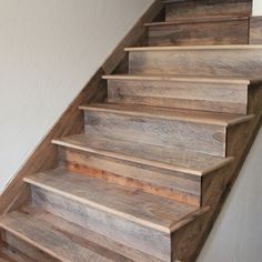 Hickory Barnwood Stairs