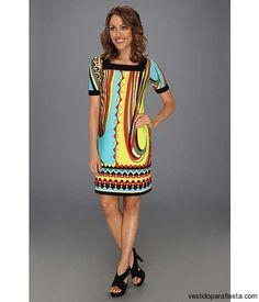 Vestidos casuales con estampado abstracto moda 2014 http://vestidoparafiesta.com/vestidos-casuales-estampado-abstracto-moda-2014/
