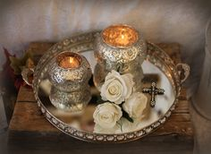 Silver Orient - Liten Ljuslykta, NYHETER, Hem Fina Hem