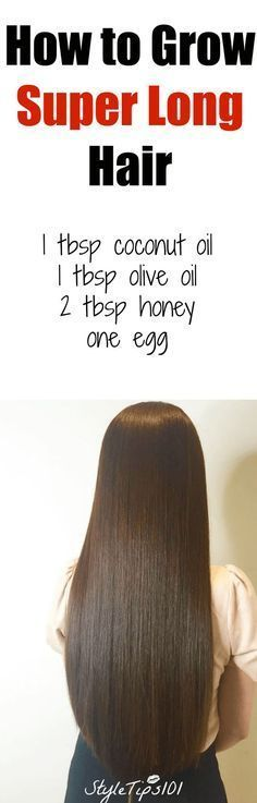 how to grow super long hair