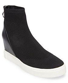 1ec8c5af4a5 Steve Madden Women s Lizzy Flyknit Wedge Sneakers   Reviews - Sneakers -  Shoes - Macy s. Scarpe Da Ginnastica ...