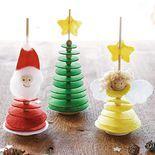 Filz-Stecker Weihnachten, Bastelset für 3 Stück