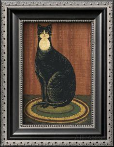 WARREN KIMBLE FAT CATS Wallpaper Border WK74757 Pinterest Folk art Folk and Wallpaper