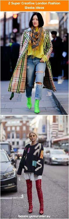 The Best Street Style from London Fashion Week The Best Street Style from London Fashion Week We are want to say thanks if you like to share this p. Cool Street Fashion, Street Style, London Spring, Fashion Weeks, London Fashion, Punk, Creative, People, Street Style Fashion