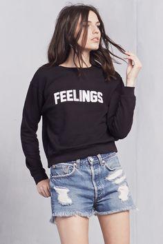 The Feelings Sweatshirt   https://thereformation.com/products/feelings-sweatshirt-1