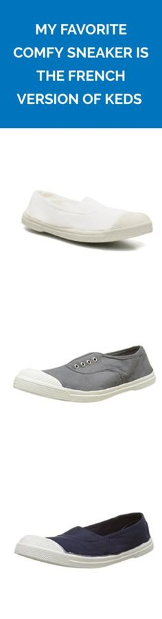 My Favorite Comfy Sneaker Is the French Version of Keds  a8e6160b6