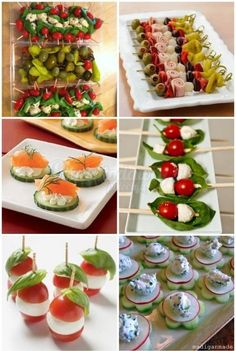przystawki na impreze/grilla na Stylowi. Snacks Für Party, Appetizers For Party, Appetizer Recipes, Comidas Fitness, Party Food Platters, Cooking Recipes, Healthy Recipes, Food Decoration, Appetisers