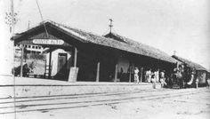 Estação Ferroviária de Monte Alto / SP - Anos 1950