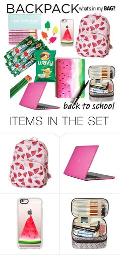 """""""My Dream Backpack"""" by shannonofficial ❤ liked on Polyvore featuring art, backpack and inmybackpack"""