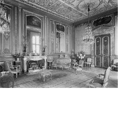 Drawing Room, Highcliffe Castle, Dorset Destroyed 1967