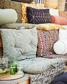 And on Sunday we do absolutely nothing.. #instamood #sundayvibes #interior_and_living #silviagattin #onlineshop #conceptstore #interiordesign #bohostyle #boholiving #handmade #ecoconscious #slowliving #supportsmallbusiness #viennaloveslocals #shopsmall Big Cushions, Black Cushions, Wood Chopping Board, Hippie Man, Cosy Corner, Slow Living, Cotton Pads, Designer Pillow, Home Textile