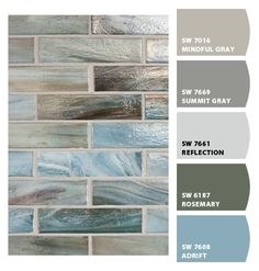 Paint colors from Chip It! by Sherwin-Williams Love the Mindful Grey color! Beach Kitchens, Beach Bathrooms, Paint Colors For Home, House Colors, Apartment Therapy, Beach House Decor, Beach Condo, Beach Homes, Florida Home