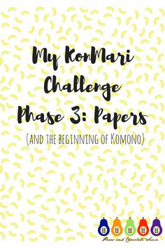 It's been a while since I posted about KonMari! If you read my last post (My KonMari Challenge! Phase 2: Books) you would have seen that the next phase was to sort out papers. Aaargh! We have just got so behind with this recently, so it was a huuuuge job and not one I've been …